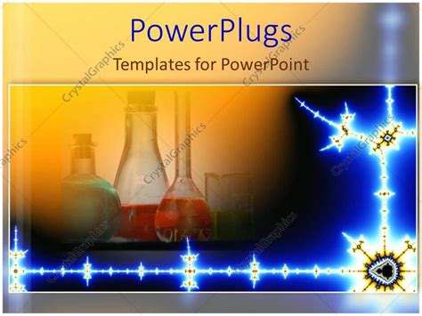 powerpoint template chemistry lab science mad scientist