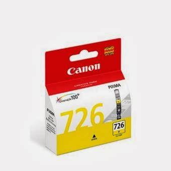 Canon Tinta Printer 726 Magenta supplier stationery alat tulis kantor tinta canon