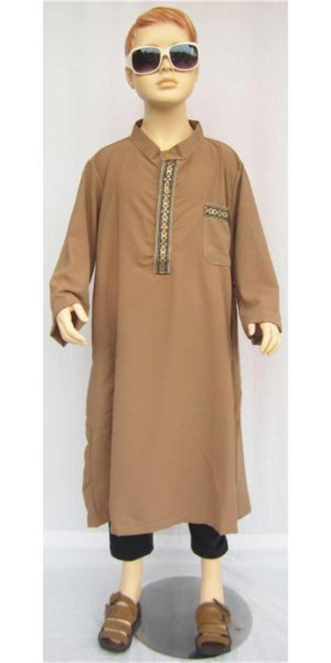 Koko Pakistan Anak 9 11thn Putih baju koko pakistan wolfis bga02