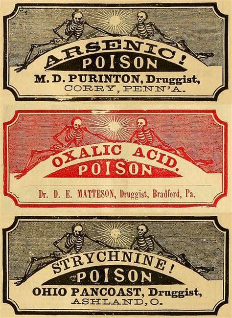 Printable Poison Labels | printable poison labels hallowe en pinterest