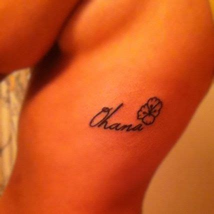 family tattoo and piercing soldotna ohana tattoo because family is always by your side