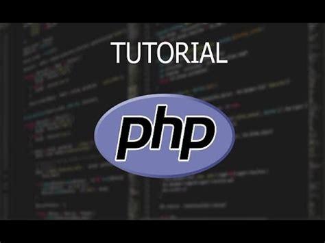 Tutorial Php Variables | tutorial php concatenar cadenas usando variables youtube