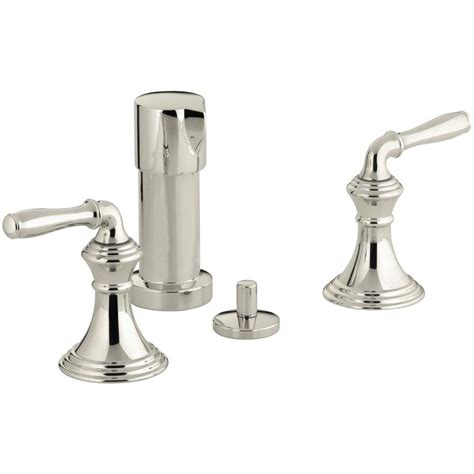 bidet leaking kohler devonshire 2 handle bidet faucet in vibrant