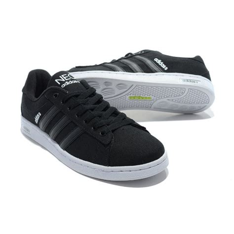 Adidas Neo Daily Black adidas neo mens canvas se daily vulc lifestyle shoes black