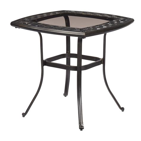 metal patio furniture outdoor bistro tables the table tops