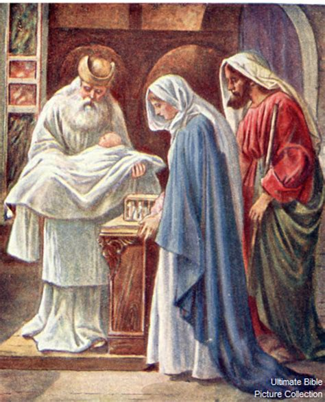 simeon from the bible luke 2 bible pictures simeon sees jesus