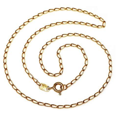 cadenas oro cadena oro 18k 40cm bilbao barbada eslab 243 n separado 2mm 109