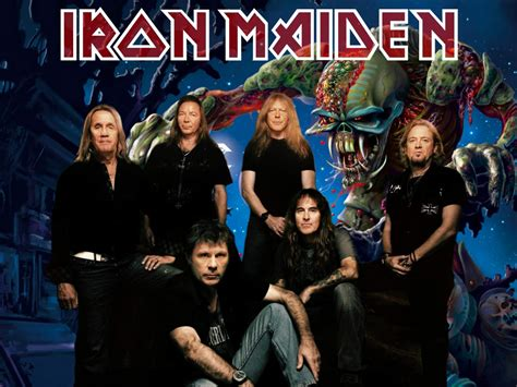 Maiden Whitening Series Promo iron maiden band promo wallpaper www ironmaidenwallpaper c flickr