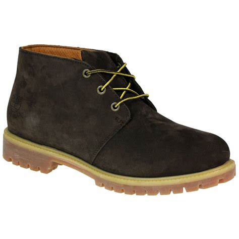 mens timberland 6369r chukka ankle leather brown boots uk