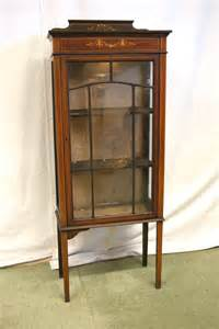 Small Display Cabinets Uk Antiques Bazaar Display Cabinets Small Mahogany Glazed