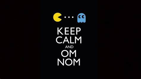keep in background keep calm and om nom wallpaper and background image