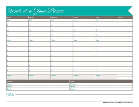 day planner november 2015 30 days of free printables 2015 week at a glance