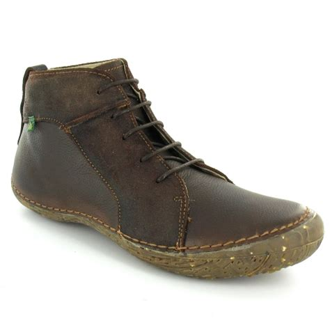 el naturalista trillo n615 mens leather ankle boots