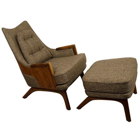 Midcentury Chair by Midcentury Adrian Pearsall Lounge Chair With Ottoman At