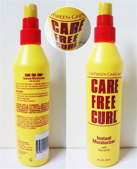 carefree curl for the love of blog care free curl instant moisturizer