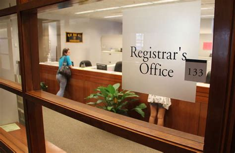Registrar Office which departments can use onbase