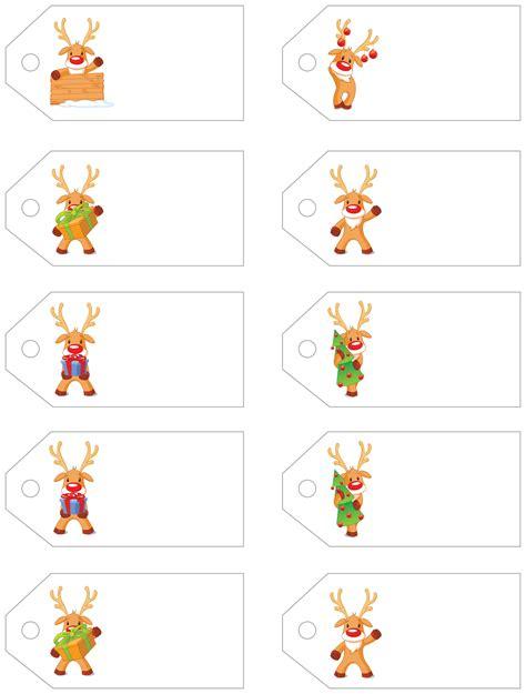 printable reindeer christmas tags santa s little gift to you free printable gift tags and