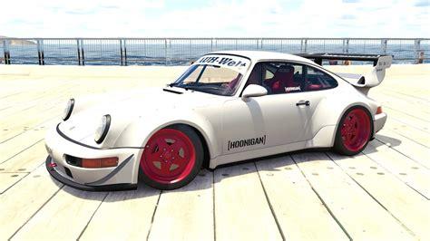 1991 porsche 911 turbo rwb forza horizon 3 1991 hoonigan rauh welt begriff porsche