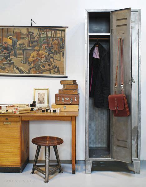 Wooden Locker Room Stools by Locker From A Former Foundry Rowac Stool Vintage