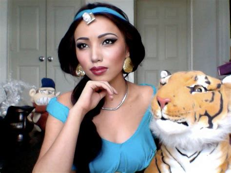 Makeup Tutorial Jasmine | halloween makeup tips disney princess costume mr