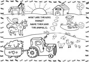 color farm free printable farm animal coloring pages for