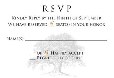 Wedding Invitation We Reserved Seats In Your Honor rsvp curiosity quot we reserved seats in your honor quot