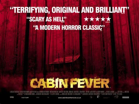 cabin fever 2002 trailer cabin fever 2002 poster 3 scifi