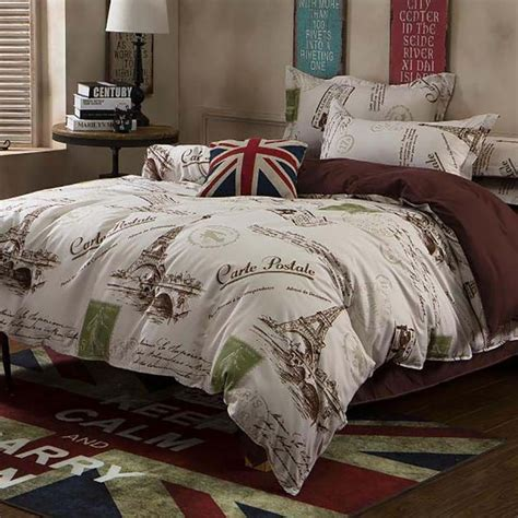 eiffel tower bedding set online get cheap eiffel tower bedding aliexpress com