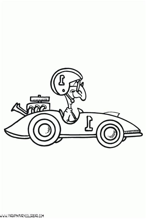 dibujos para colorear coches 9 dibujos para colorear dibujo de coche de carreras para colorear 041