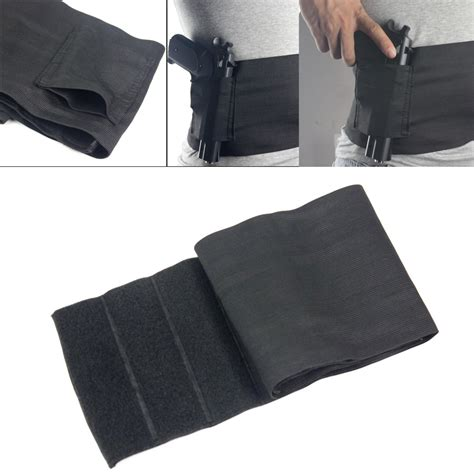 waistband holster concealed carry gun tactical elastic waist concealed carry holster belly band