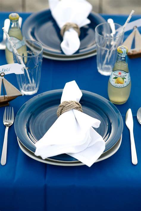 Let Me Sail Baby Blue Kemeja Putih Kawaii Seifuku Sailor Biru Pastel nautical tablescape let s mingle