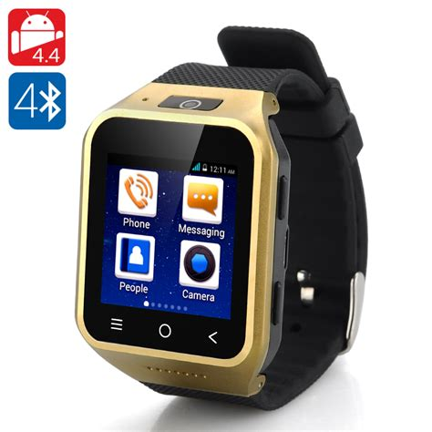 android smartwatch zgpax s8 android 4 4 smartwatch phone golden toyonix