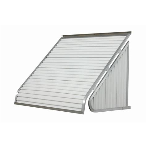 metal awnings home depot nuimage awnings 3 ft 3500 series aluminum window awning 28 in h x 24 in d in