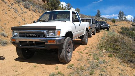 Toyota 3 4 Ton Truck 1991 Toyota Getting A 3 4 From A 1997 4runner
