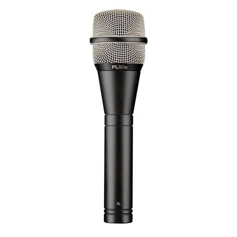 The Voice Microphone electro voice pl80a supercardioid dynamic vocal microphone dv247