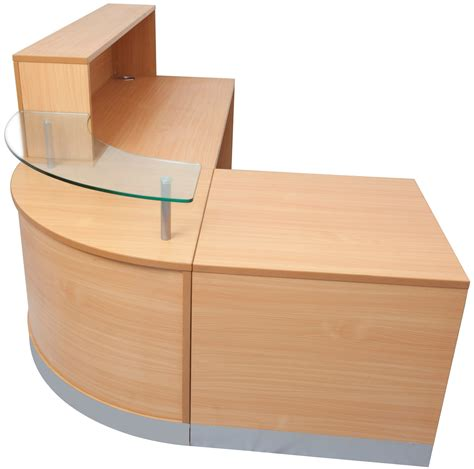 Reception Desk With Counter Flow Reception Desk Counter Office Stock