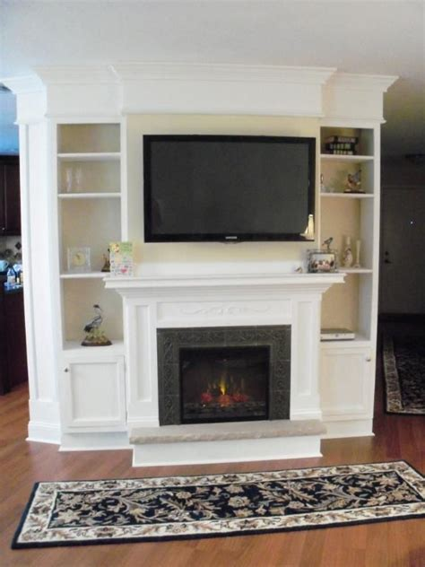 Build In Fireplace by 25 Best Ideas About Fireplace Entertainment Centers On