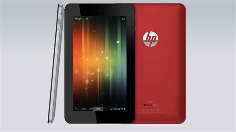 Tablet Android Hp hp debuts android based device the slate 7 tablet