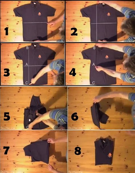 how to fold a t shirt in less than two seconds alldaychic