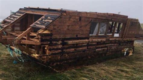 houseboat canada mysterious canadian houseboat washes up on irish coast