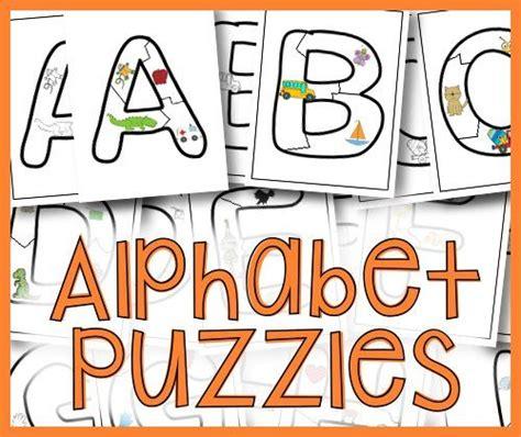 printable alphabet letter puzzles puzzles printable alphabet and alphabet on pinterest