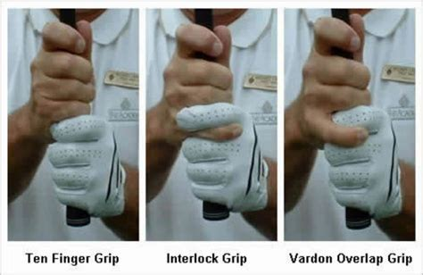 how to hold and swing a golf club how to grip a golf club