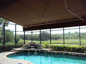 Screened In Awning by 1000 Ideas About Screened Pool On Pool