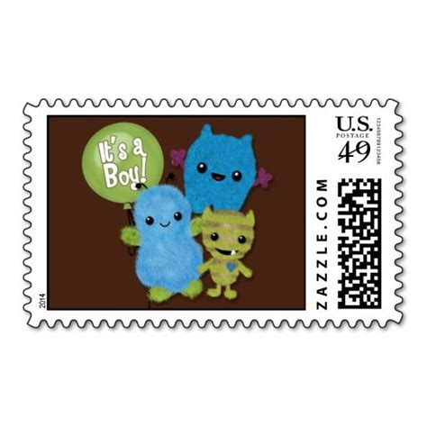 Peek A Boo Card Template by Peek A Boo Monsters Baby Shower Invitation Boy Pab Postage