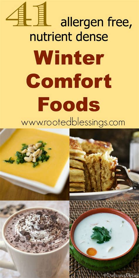 41 winter comfort foods allergen free nutrient dense