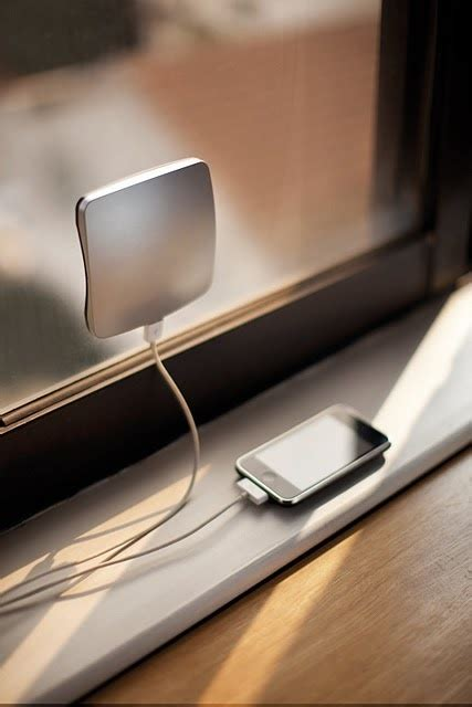 chargers home solar window charger 10 neat household gadgets you ve