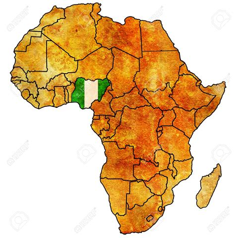 In Africa by Africa Clipart Nigeria Pencil And In Color Africa