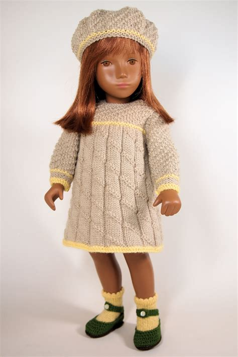 dolls knitting patterns patron habits poup 233 es on doll clothes doll