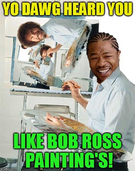 bob ross painting meme where s bob imgflip