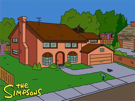 the simpsons house the real life quot the simpsons quot house iamnotastalker